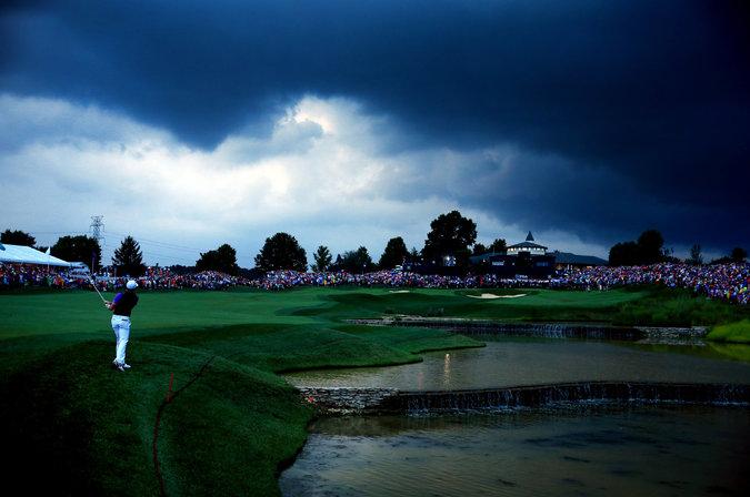 18th at PGA Championship