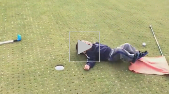 WATCH: Child Misses a Tap-in, Throws an Epic Tantrum