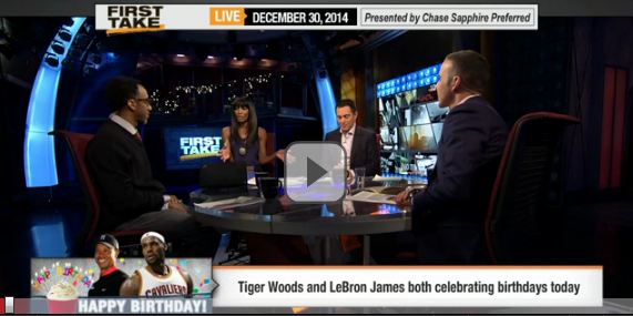 Tiger vs. Lebron