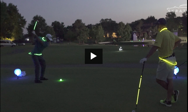 EPIC: Mind Officially Blown, Watch Jonathan Byrd and Max Homa Light it Up With NIGHT GOLF!