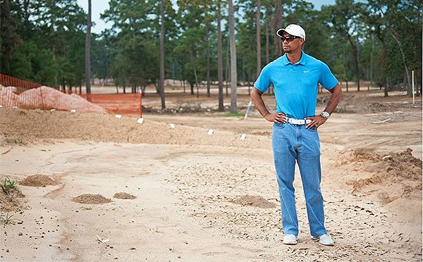Tiger Woods 'Mom' Jeans